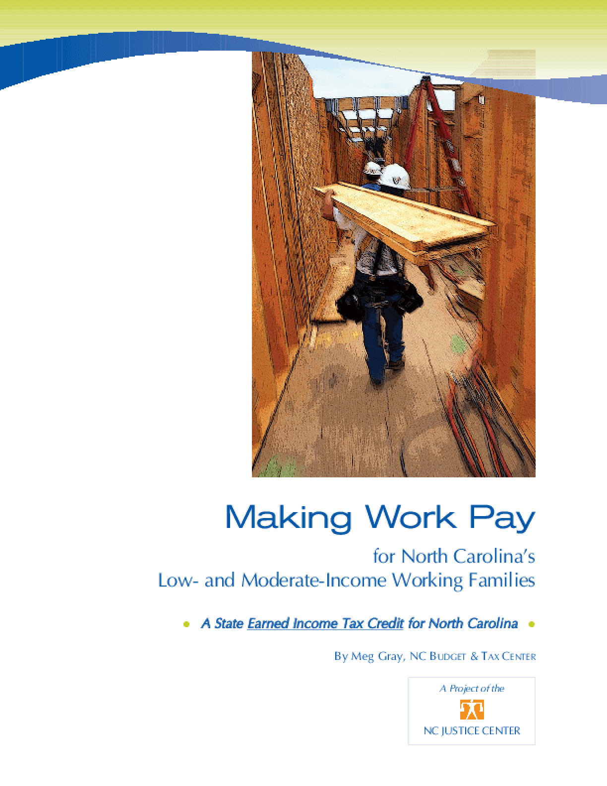 Making Work Pay for North Carolina's Low- and Moderate-Income Working Families