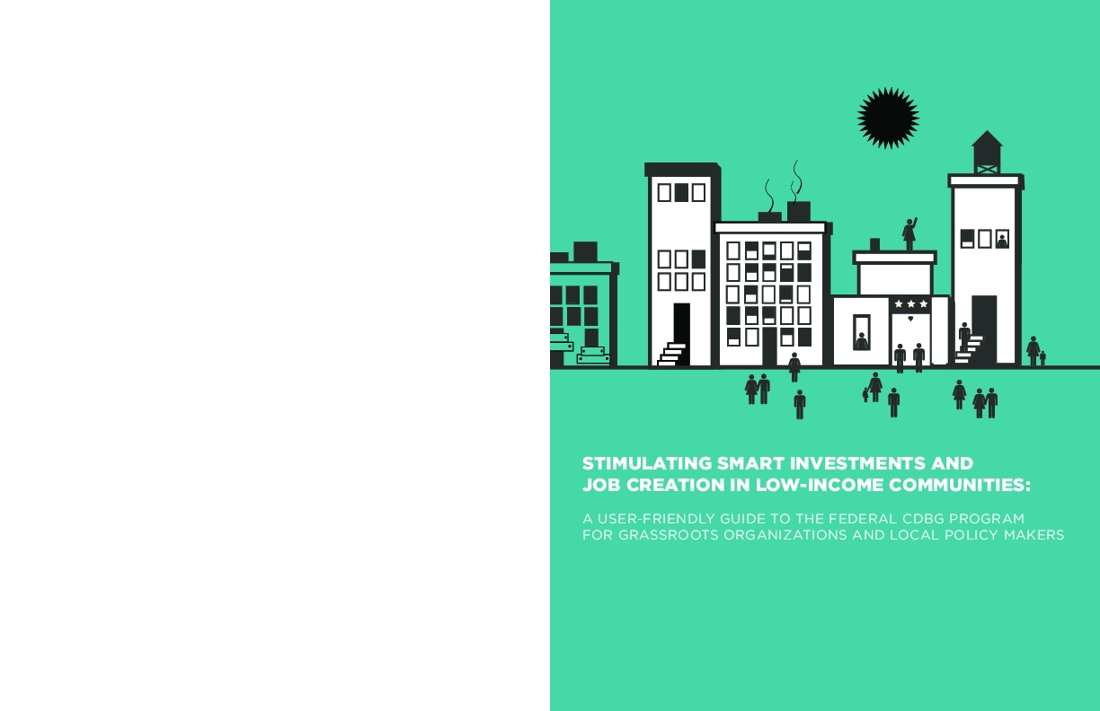 Stimulating Smart Investments and Job Creation in Low-Income Communities