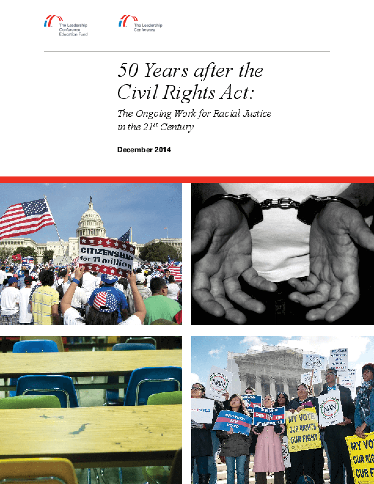 50 Years after the Civil Rights Act: The Ongoing Work for Racial Justice in the 21st Century
