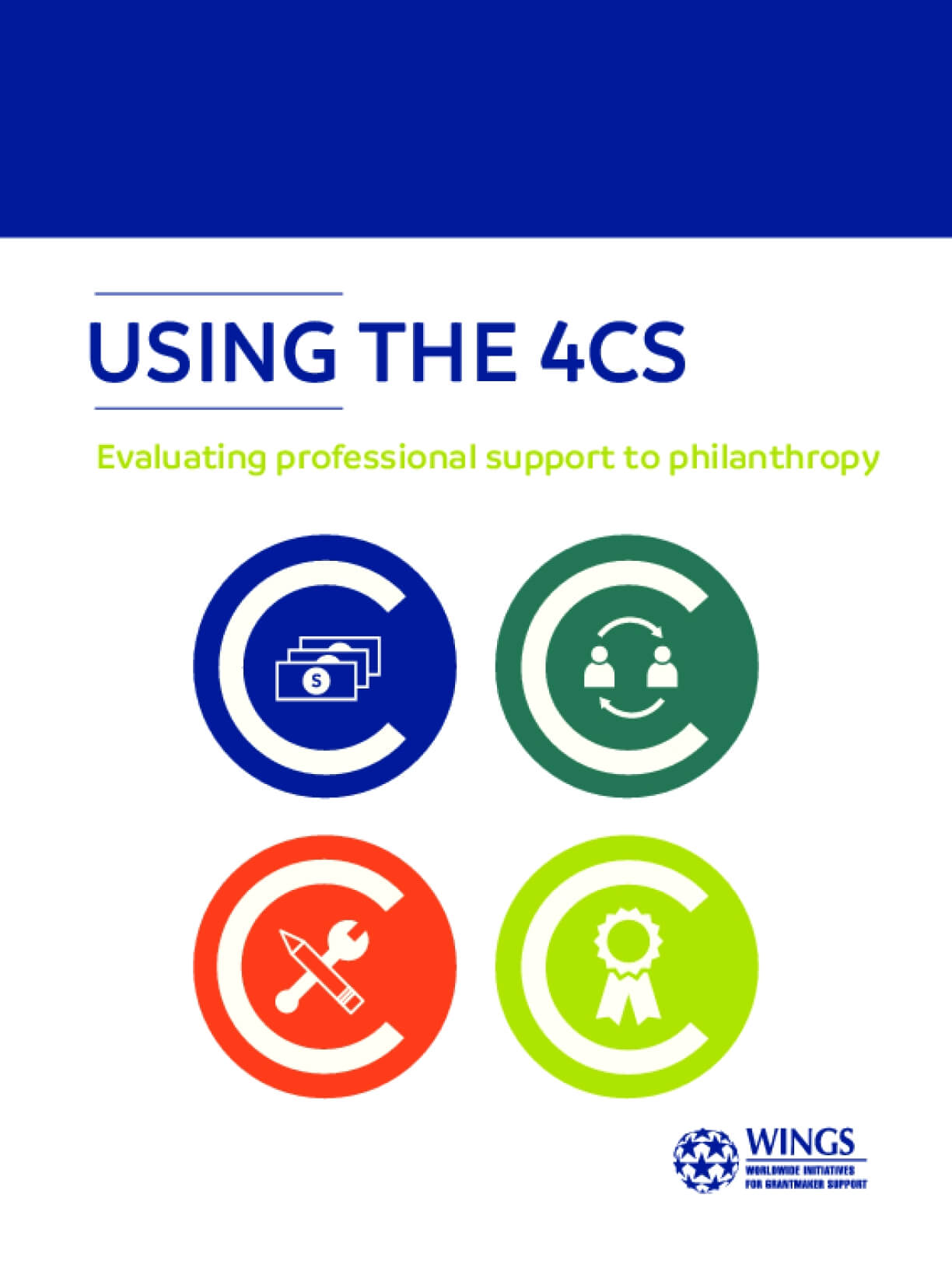 Using the 4Cs: Evaluating Professional Support to Philanthropy