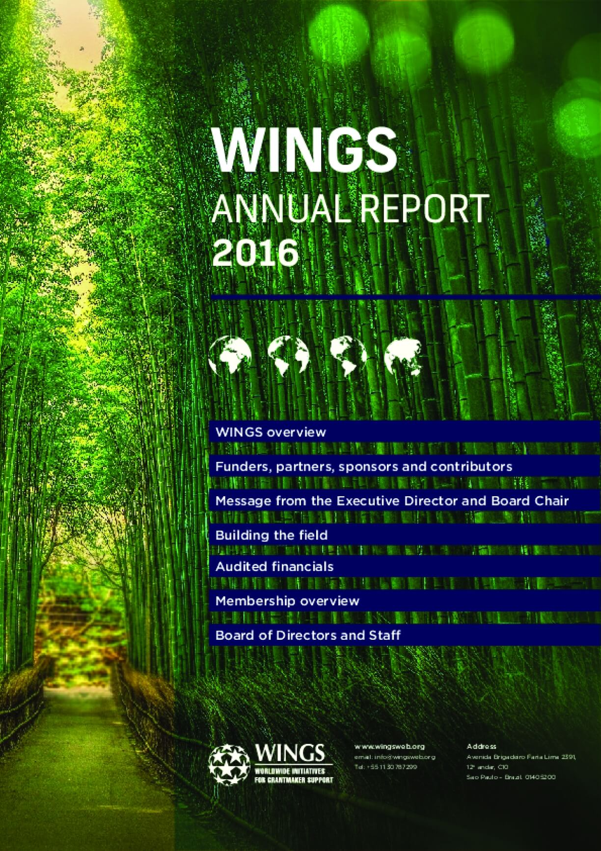 WINGS Annual Report 2016