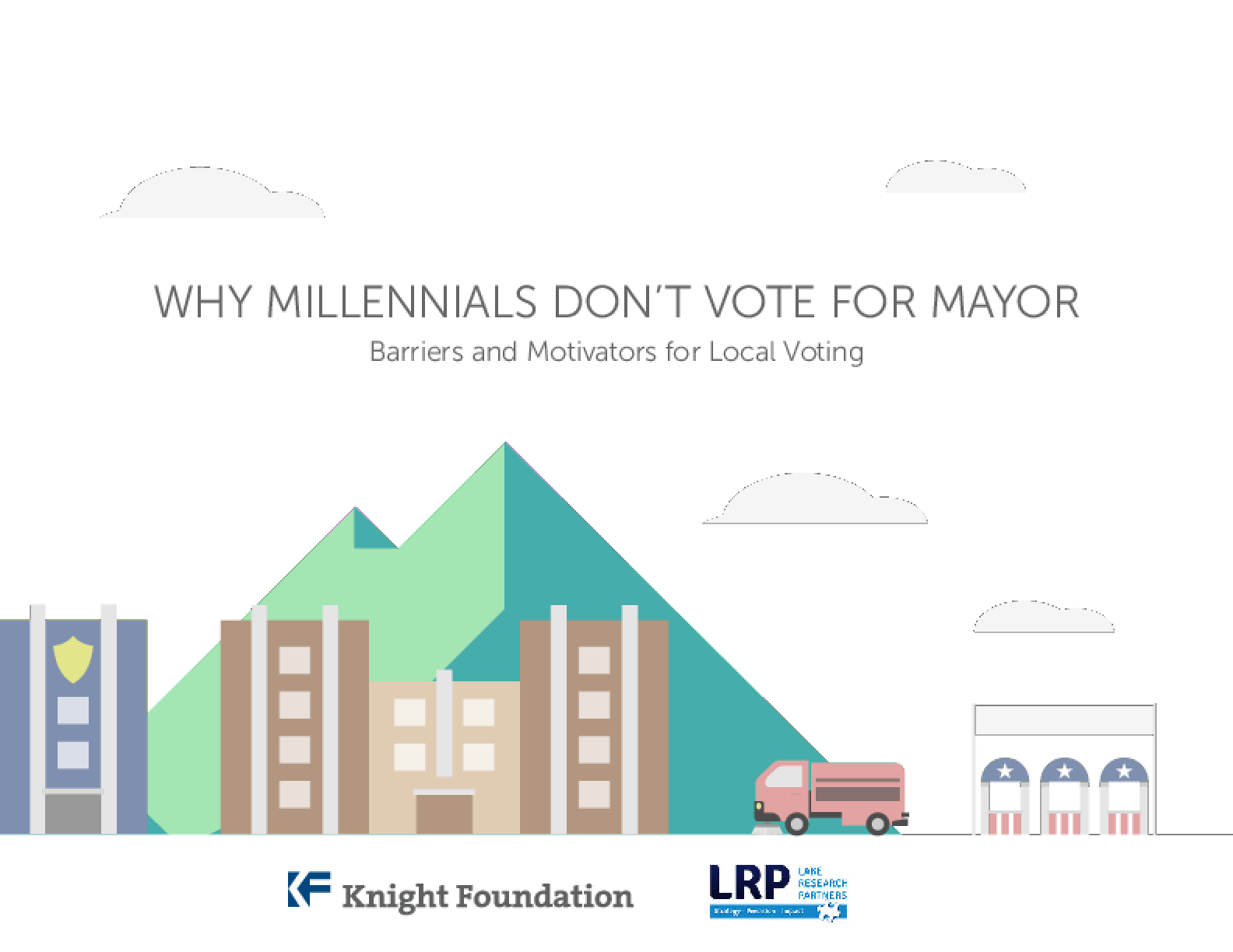 Why Millennials Don't Vote for Mayor: Barriers and Motivators for Local Voting