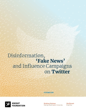 Disinformation, Fake News and Influence Campaigns on Twitter