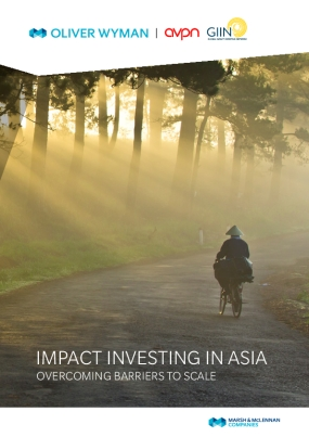 Impact Investing in Asia: Overcoming Barriers to Scale