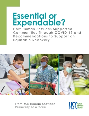 Essential or Expendable?: How Human Services Supported Communities Through COVID-19 and Recommendations to Support an Equitable Recovery